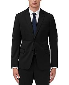 Men's Slim-Fit Solid Suit Jacket Separate