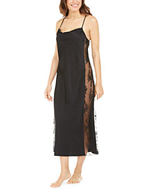 INC Lace Side-Panel Nightgown, Created For Macy's