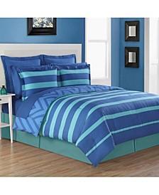 Biscay 4-Piece Reversible Queen Comforter Set