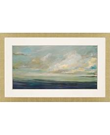"""Shoreline Framed Wall Art, 29"""" x 47"""""""