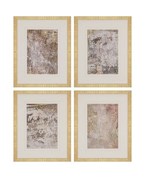 "Paragon Vestige I Framed Wall Art Set of 4, 21"" x 17"""