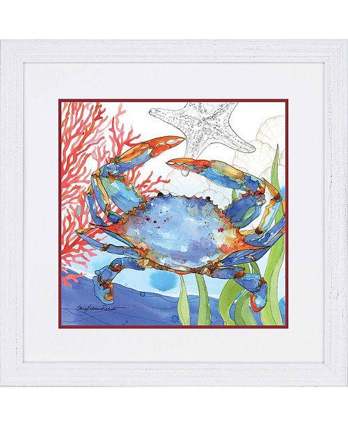 "Paragon Oceana Crab 2 Framed Wall Art, 37"" x 37"""