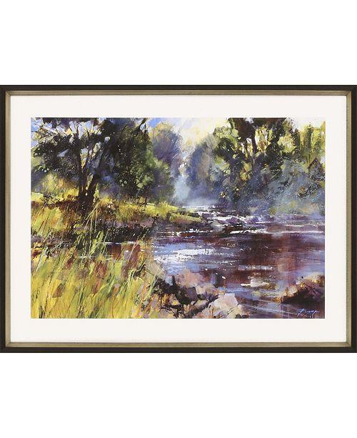 "Paragon Rocky River Framed Wall Art, 22"" x 31"""