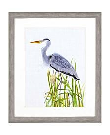 """Waterbirds II Framed Wall Art, 44"""" x 36"""""""