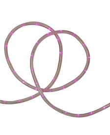 """18' Pink LED Indoor/Outdoor Christmas Rope Lights - 2"""" Bulb Spacing"""