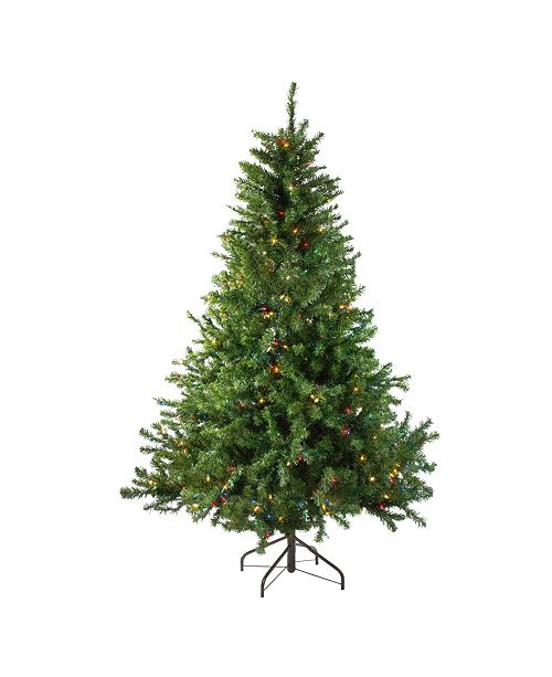 Northlight 6' Pre-Lit Canadian Pine Artificial Christmas Tree - Multi Lights