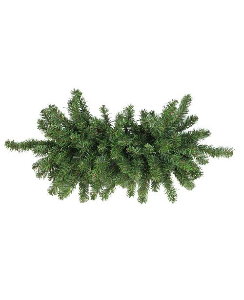 Northlight Canadian Pine Artificial Christmas Door Swag - Unlit