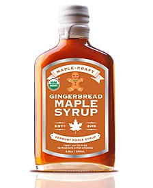 Gingerbread Vermont Maple Syrup Organic