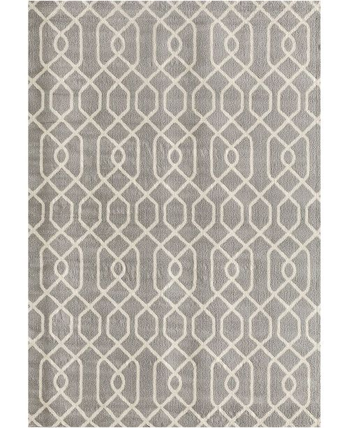 Main Street Rugs Home Haven Hav9105 Gray 5' x 7' Area Rug
