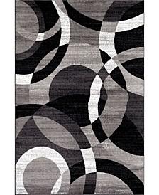 Montane Mon105 Gray 10' x 14' Area Rug