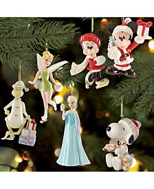 Lenox Christmas Character Ornament Collection