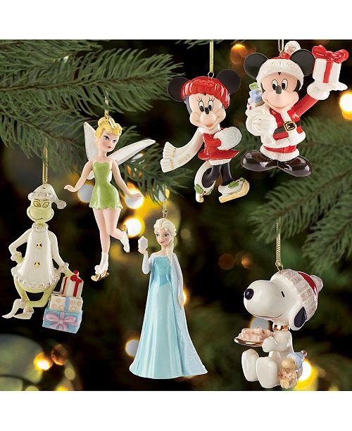 Lenox Christmas Character Ornament Collection