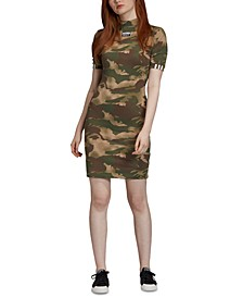 Women's Camo T-Shirt Dress