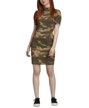 Adidas Originals Dresses ADIDAS ORIGINALS CAMO T-SHIRT DRESS