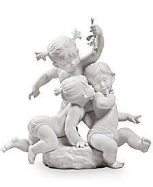 Kiss Under the Mistletoe Figurine