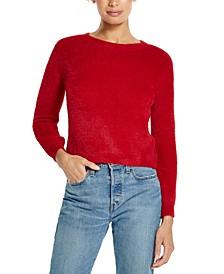Pullover Eyelash Sweater