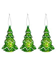 Mini Tree Figurines - Set of 3