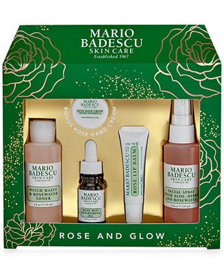 5 Pc. Rose And Glow Set by General