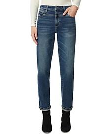 Niki Boyfriend Roll-Cuff Jeans
