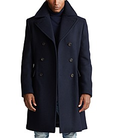 Men's Polo Soft Wool-Blend Topcoat