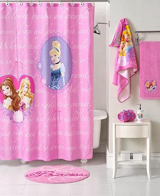 Disney bath accessories princess timeless elegance for Disney princess bathroom set