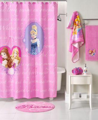 Delightful Disney Bath Accessories, Princess Timeless Elegance Collection