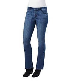AB Solution Itty Bitty Mid Rise Boot Jeans