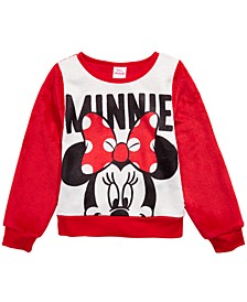 Little Girls Minnie Mouse Sweatshirt