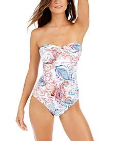 Twisted Bandini Top & Bikini Bottoms