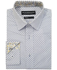 Men's Modern-Fit Circle Medallion Shirt