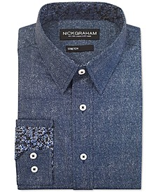 Men's Modern-Fit Denim Shirt