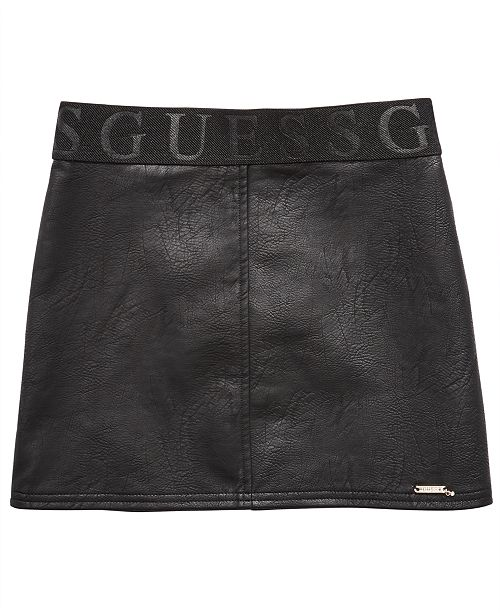 GUESS Big Girls Faux Leather Skirt