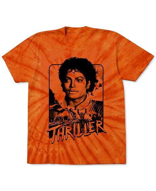 Merch Traffic Michael Jackson Thriller Men's Graphic T-Shirt