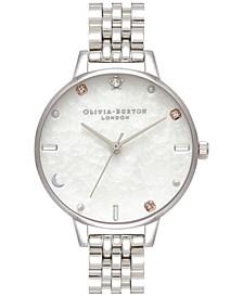 Women's Celestial Stainless Steel Bracelet Watch 34mm