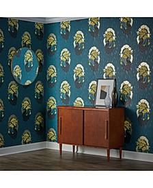 Deco Peacock Self-Adhesive Wallpaper