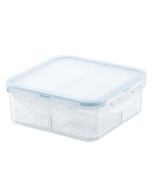 Lock n Lock Purely Better 29-Oz. Square Food Storage Container with Divider