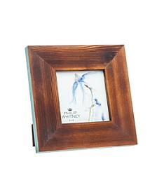 "Wood Blue Edge Frame - 4"" x 4"""