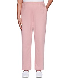All About Ease French Terry Proportioned Pants