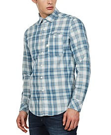 Men's Slim-Fit Bristum Check Shirt