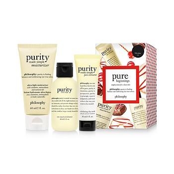 3-Piece Philosophy Pure Beginnings Purity Gift Set