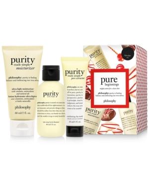 philosophy 3-Pc. Pure Beginnings Purity Gift Set