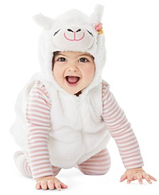 Baby Boys & Girls 3-Pc. Little Llama Costume