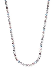 """Gold-Tone Imitation Pearl Graduated Strand Necklace, 42"""" + 2"""" extender, Created For Macy's"""