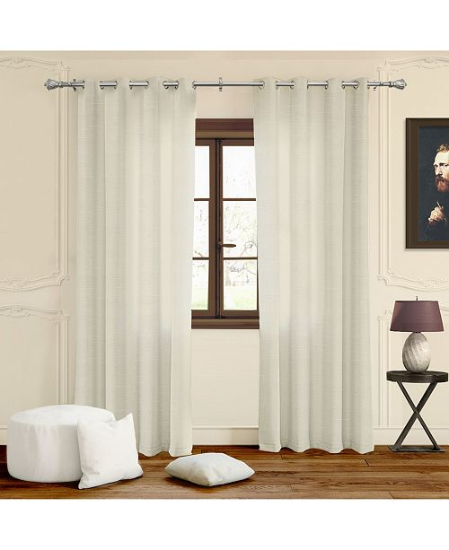 """Chicology Grommet Top Curtains, 52"""" W x 63"""" H"""