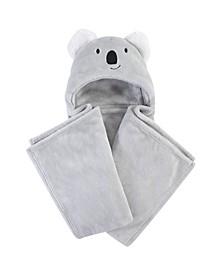 Plush Blanket with Hood