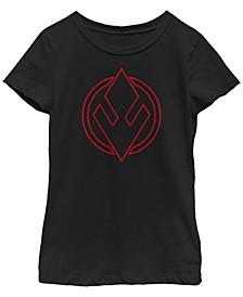 Big Girls Rise of Skywalker Sith Trooper Logo T-Shirt