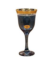 Blue Goblets - Set of 6