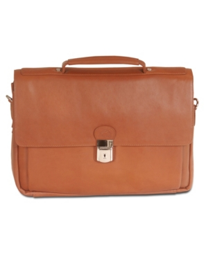"""Colombian Collection Triple Compartment 15"""" Laptop Briefcase"""