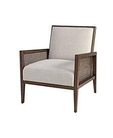 Martha Stewart Angelina Arm Chair, Quick Ship