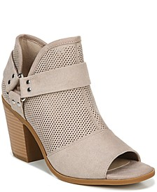 Augustine City Peep Toe Booties